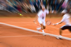 Tennis double Stock Photo