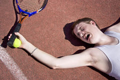 Tennis Elbow Stock Image