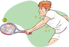 Tennis elbow Photos stock