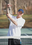 Tennis elbow pain stock photography