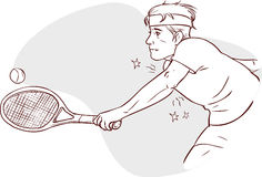 Tennis elbow Stock Photography
