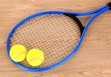 Tennis equipment Stock Images