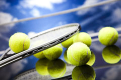 Tennis equipment Stock Photos