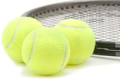 Tennis Equipped Stock Image