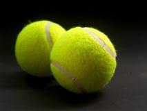 tennis för 6 boll arkivbilder