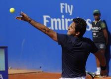 tennis för almagro nicolas spelarespanjor Royaltyfria Foton