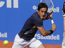 tennis för almagro nicolas spelarespanjor Arkivfoton