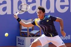 tennis för almagro nicolas spelarespanjor Fotografering för Bildbyråer