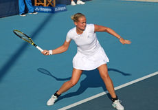 tennis för anna ger groenefeldlena pl professionell Arkivbilder