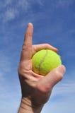 tennis för nummer ett Arkivfoto