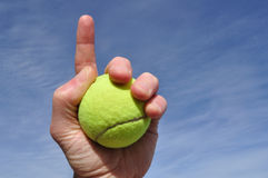 tennis för nummer ett Royaltyfri Bild