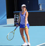 tennis för por för britolarcherdemichelle spelare Royaltyfri Bild