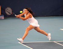 tennis för professionell för spelare för bartolifra marion Arkivfoton