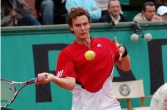 tennis för stjärna för latv för 41 ernestsgulbis Arkivbilder