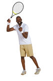 Tennis-Feier Lizenzfreies Stockfoto