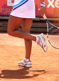 Tennis femminile Fotografie Stock