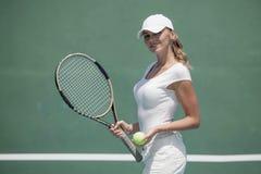 Tennis femminile immagine stock libera da diritti