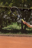 Tennis forehand Stock Photos
