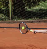 Tennis forehand Stock Images