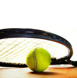 Tennis game Royalty Free Stock Images
