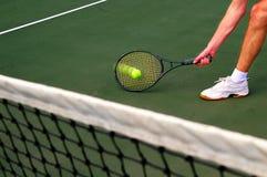 Tennis game Royalty Free Stock Photos