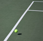 Tennis game concept Stock Photography