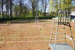 Tennis-Gericht Stockbilder