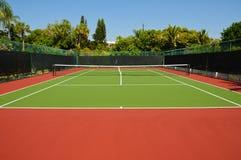 Tennis-Gericht Stockfotografie