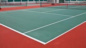 Tennis-Gericht lizenzfreie stockbilder
