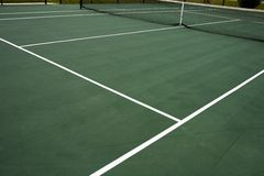 Tennis-Gericht lizenzfreies stockfoto