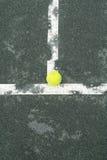 Tennis-Gericht Lizenzfreie Stockfotos