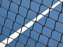 Tennis-Gerichts-Details Stockfotos
