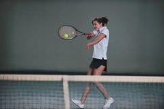 Tennis girl Stock Image