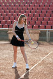 Tennis girl. Stock Photos