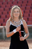 Tennis girl. Stock Photography
