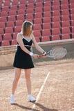 Tennis girl. Stock Photo