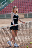 Tennis girl. Stock Image