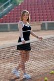 Tennis girl. Stock Image