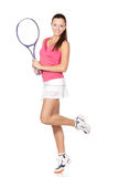 Tennis girl Royalty Free Stock Image