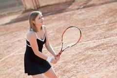 Tennis girl. Stock Photos