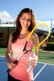 Tennis girl Stock Photo