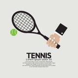 Tennis Grafisch Spelen royalty-vrije illustratie