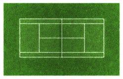 Tennis grass court. Tennis court. Grass Stock Images