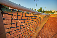 Tennis Grid Background Stock Image