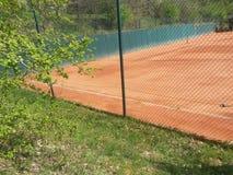 Tennis-Grundfläche Stockbilder