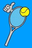 Tennis hand Stock Photos