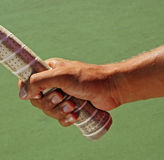 Tennis Hand Racket Grip Stock Photography