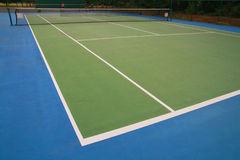 Tennis, hard court Royalty Free Stock Photography