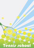 Tennis school Stock Photos