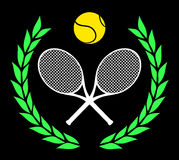 Tennis icon  Stock Images
